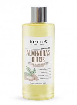 Aceite de Almendras dulces puro Kefus 1000 ml.