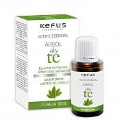 Esencia de Arbol del Té natural Kefus 15 ml Caja