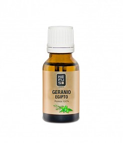 Esencia de Geranio natural Kefus 15 ml
