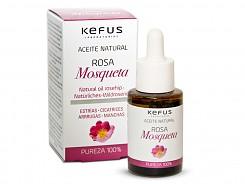 Aceite de Rosa Mosqueta natural Kefus 30 ml.