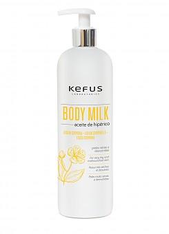 Locion Corporal Body Milk Aceite Hiperico Kefus 500 ml