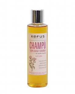 Champu Caspa Grasa y Seborrea Kefus 200 ml