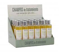 Expositor champú de Queratina Kefus 200 ml