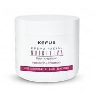 Crema Facial Nutritiva Acido Hialuronico Kefus 500 ml