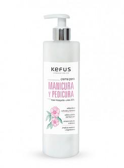 Crema manicura y pedicura Kefus 200ml.