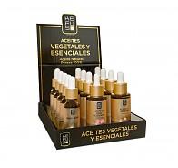 Expositor aceites vegetales y esenciales Kefus 15ml.