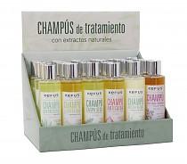 Expositor Champú combinados Kefus 200 ml