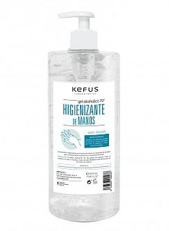 Gel Alcoholico Higienizante de Manos Kefus 1000 ml