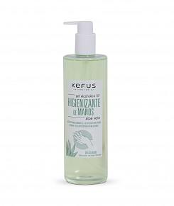 Gel Alcoholico Higienizante de Manos Aloe Vera Kefus 500 ml