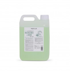 Gel Alcoholico Higienizante de manos Aloe Vera Kefus 5000 ml