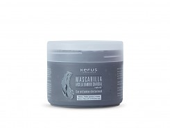 Mascarilla de Arcilla Bamboo Charcoal natural Kefus 250 ml