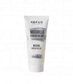 Mascarilla plástica facial peel off con ácido hialurónico Kefus