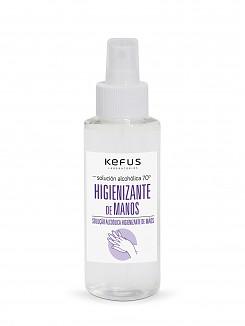 Solución Alcoholica Higienizante de manos spray Kefus 100 ml