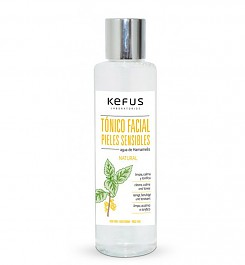 Tonico Facial Pieles Sensibles Agua de Hamamelis Kefus 500 ml